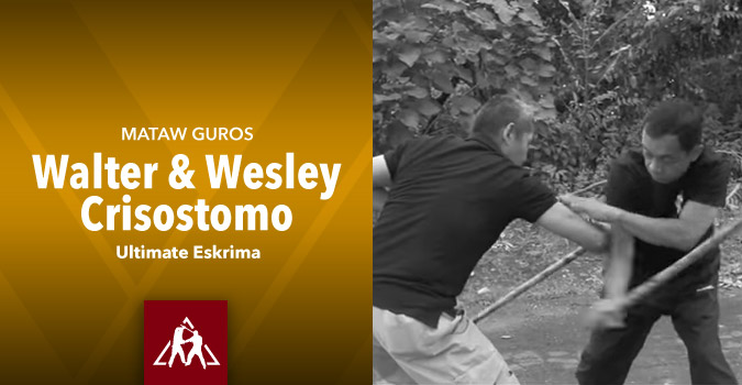 Mataw Guros Walter and Wesley Crisostomo of Ultimate Eskrima (video)
