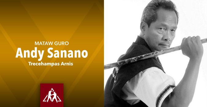 Mataw-Guro Andy Sanano of Trecehampas Arnis (video)