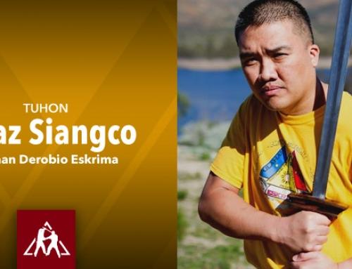 Tuhon Chaz Siangco of Pulahan Derobio Eskrima (Audio)