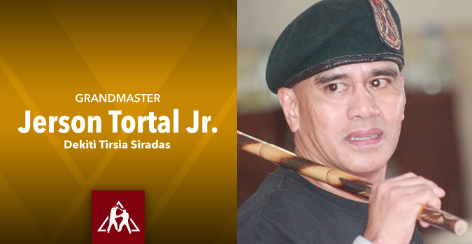 Grandmaster Jerson Tortal Jr., of Dekiti Tirsia Siradas (Video)