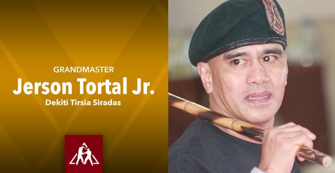 Grandmaster Jerson Tortal Jr. Dekiti Tirsia Siradas