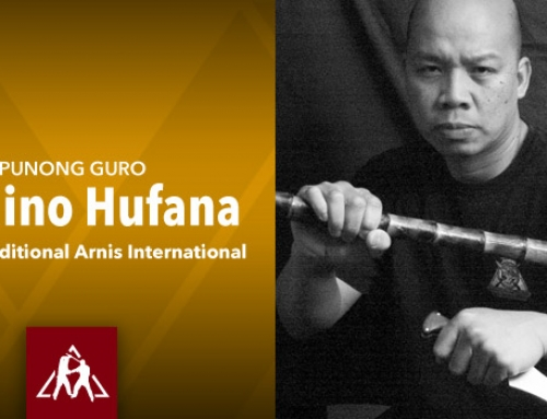 Punong Guro Myrlino Hufana of the Hufana Traditional Arnis International (Audio)