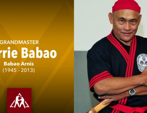 Grandmaster Narrie Babao of Babao Arnis (audio)