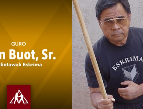 Sam Buot Sr. of Balintawak Eskrima (Audio)