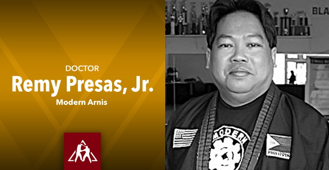 Dr. Remy Presas, Jr. of Modern Arnis (Audio)