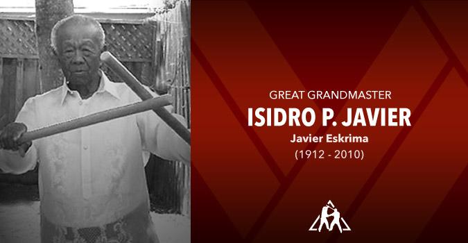"""Grandmaster """"Manong"""" Isidro P. Javier (1912 – 2010)"""