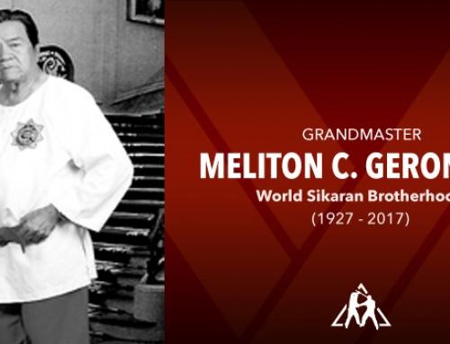 Grandmaster Meliton Geronimo (1927 – 2017)