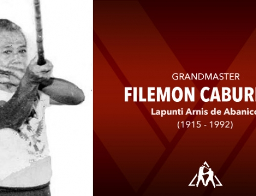 Grandmaster Filemon Caburnay (1915 – 1992)