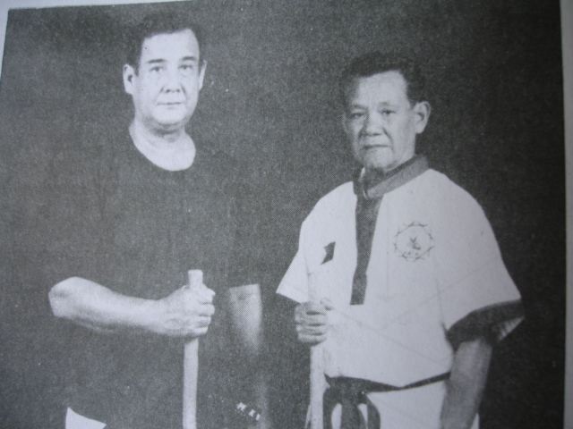 Grandmaster Nono Mamar and Grandmaster Mike Vasquez